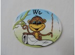 002-Cedulka na dveře-opička