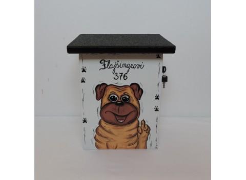 109-Poštovní schránka-pes